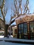Frozen merry-go-round